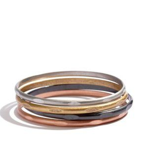 Madewell Mixed Metal Bangle Set